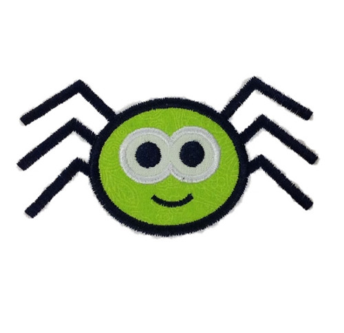 Applique Spider Halloween Machine Embroidery Design