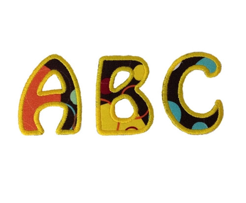 Hobo Applique Machine Embroidery Alphabet Font