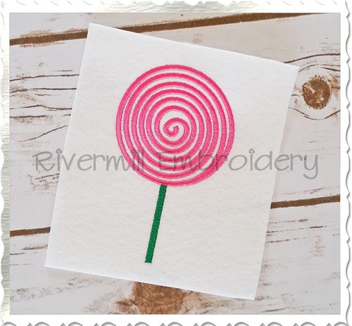 Lollipop Machine Embroidery Design