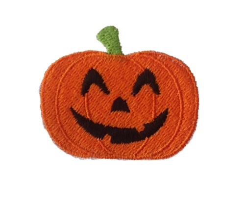 Small Jack O Lantern Filled Machine Embroidery Design