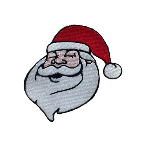 Santa Claus Face Machine Embroidery Design