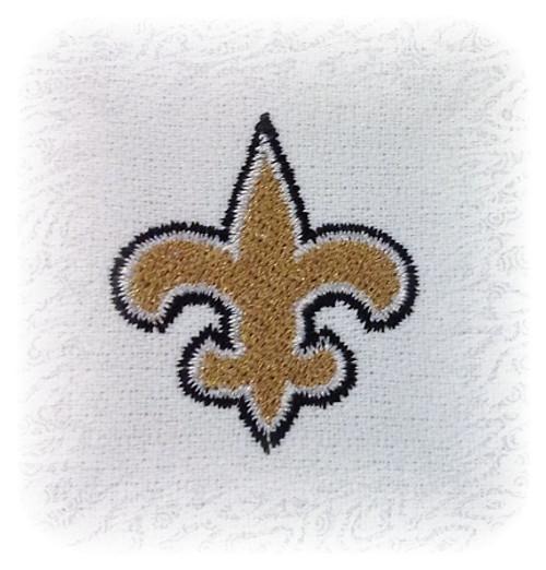 Mini Fleur De Lis Machine Embroidery Design