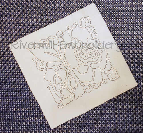 Floral Quilt Block 6 Machine Embroidery Design