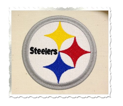 Pittsburgh Steelers Machine Embroidery Design