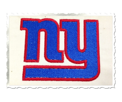 New York Giants Machine Embroidery Design