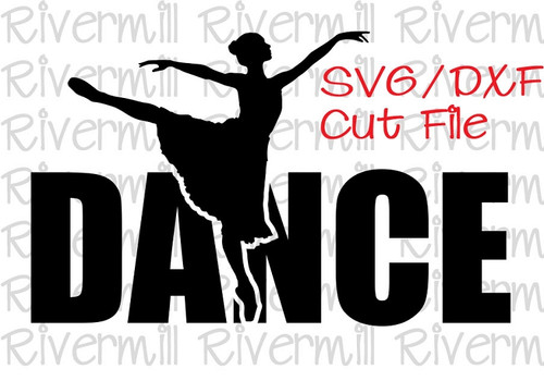 SVG DXF Dance Cut File