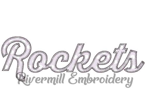 Rockets Blanket Stitch Machine Embroidery Design