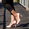 Pink Mid Heel Pump I Petra by Scarlettos