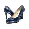 Navy Mid Heel Pump I Demi by Scarlettos