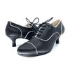 Black Low Heel Bootie I Zara by Scarlettos