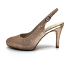 Rose Gold Mid Heel Slingback I Gabriella by Scarlettos