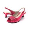 Hot Pink Kitten Heel Slingback I Frankie by Scarlettos