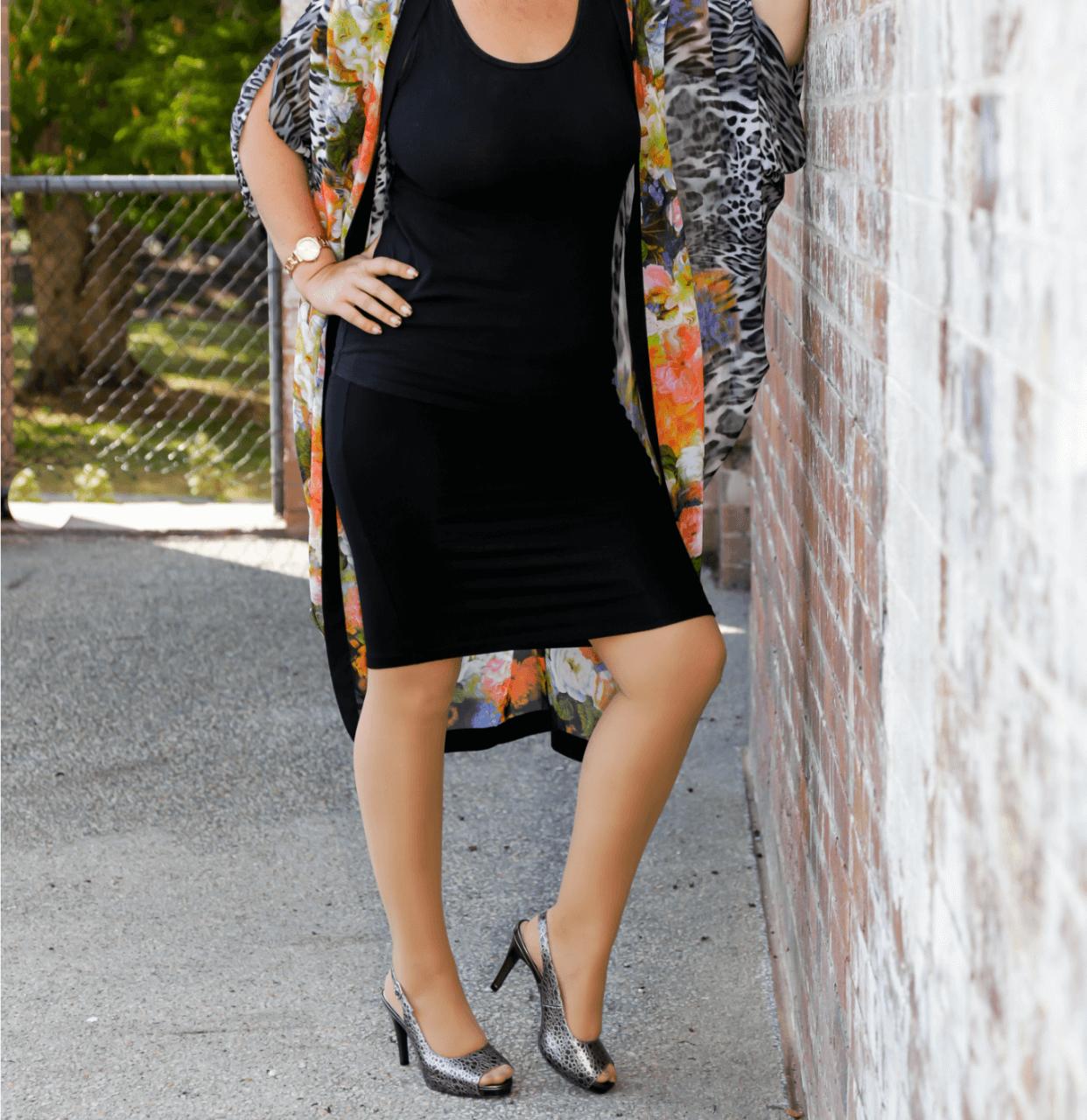 Grey Mid Heel Slingback I Slate by Scarlettos