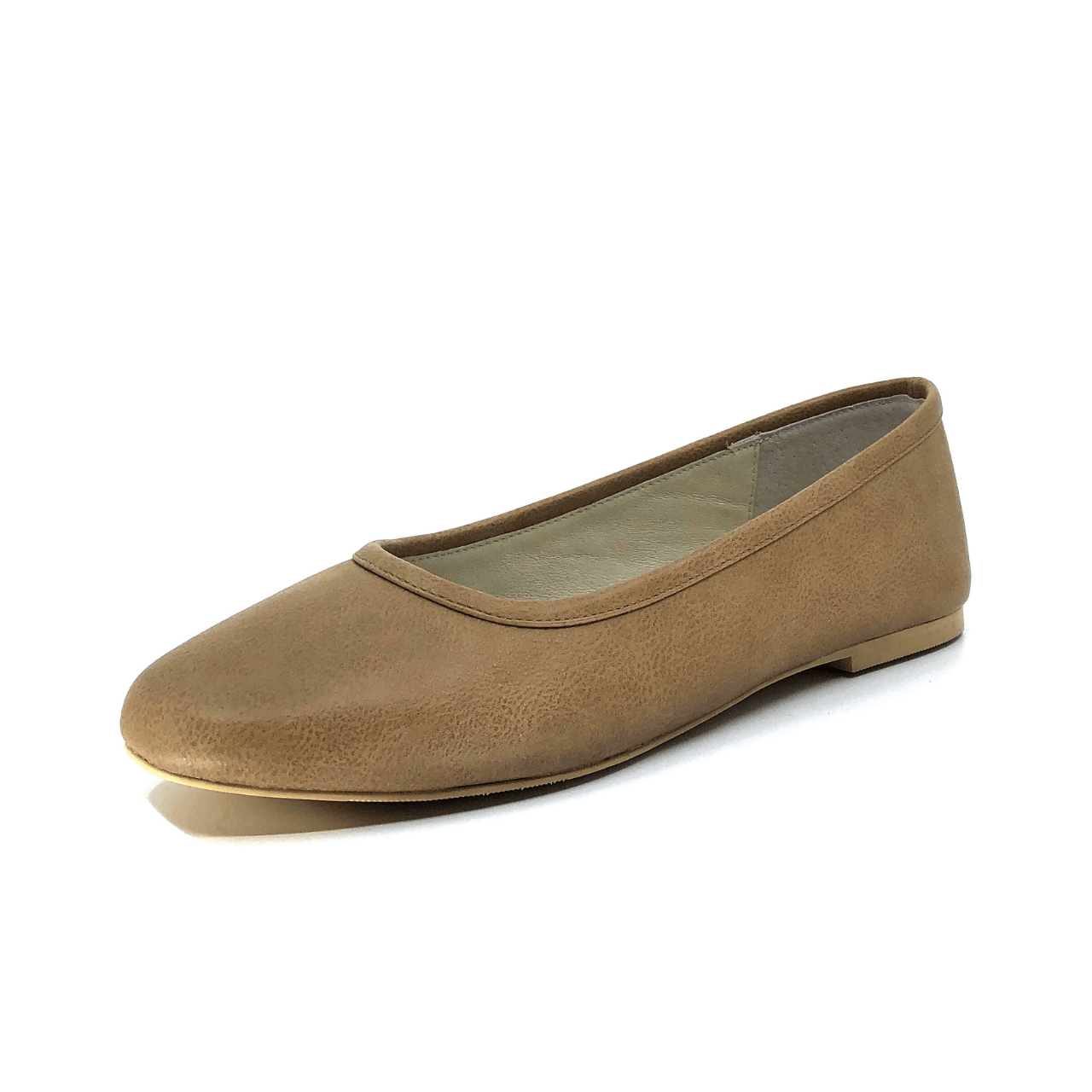 Nude Casual Ballet Flat I Mia by Scarlettos
