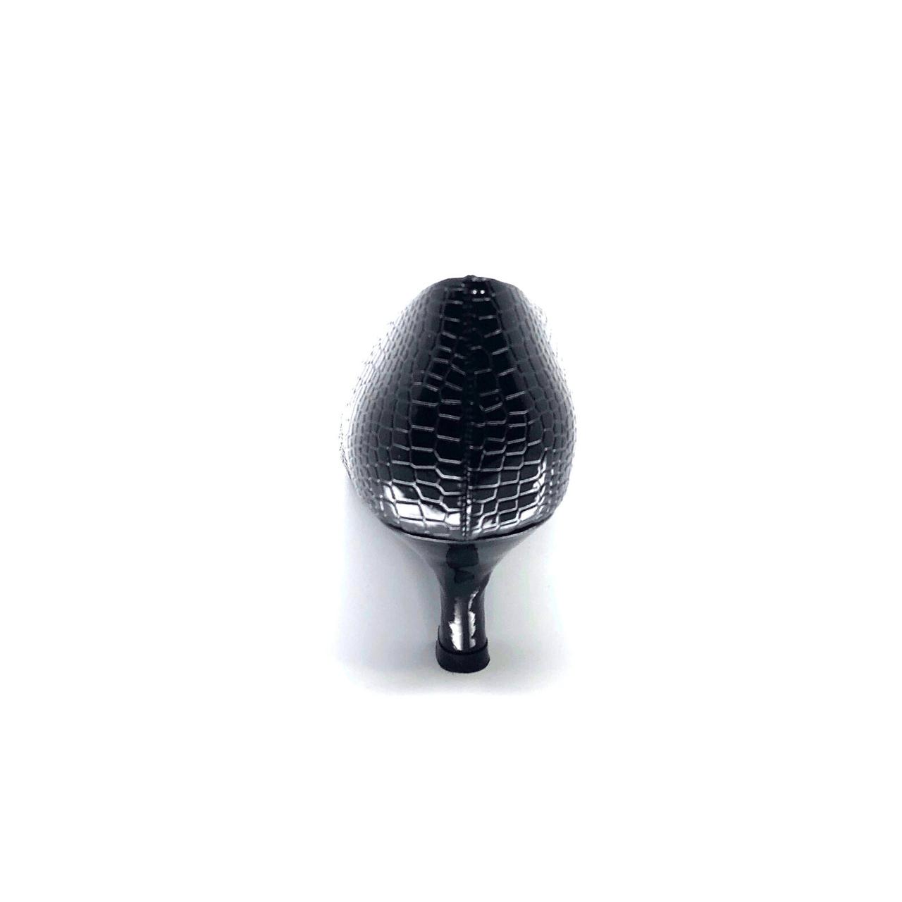 Black Kitten Heel Pump I Braxton by Scarlettos