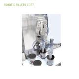 Robotic filler for Family Packs, Ice cream cakes