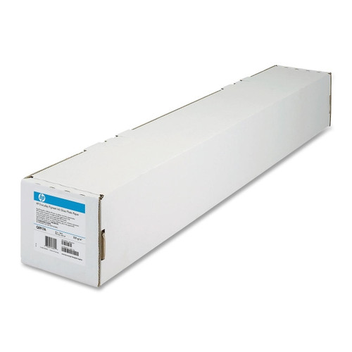 "HP Bright White Inkjet Paper, 24lb, 36"" x 150' , 1 Roll, C1861A"