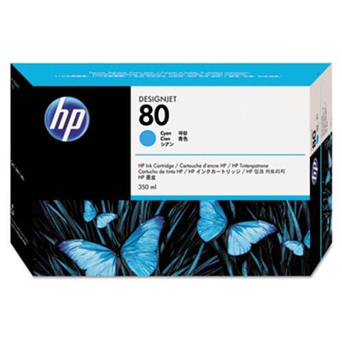 HP 80 - Cyan Ink Cartridge - C4846A - 350ml
