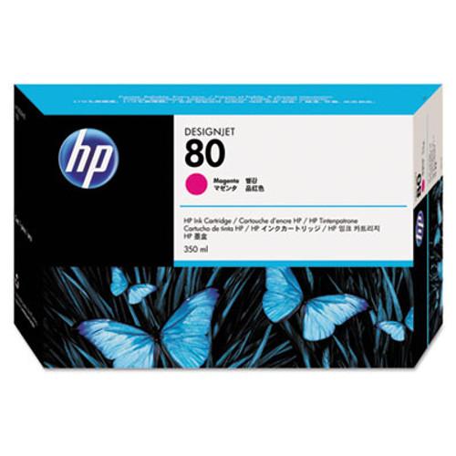 HP 80 - Magenta Ink Cartridge - C4847A - 350ml