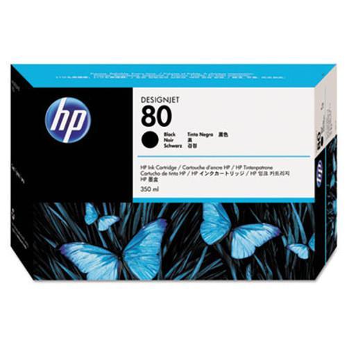 HP 80 - Black Ink Cartridge - C4871A - 350ml