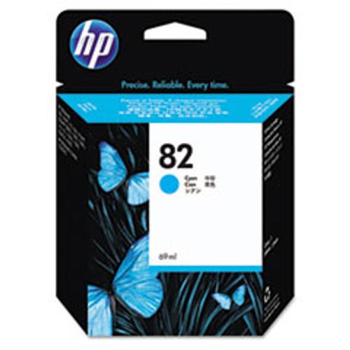 HP 82 - Ink Cartridge - Cyan 69ml - C4911A