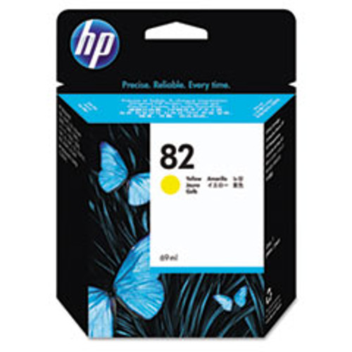 HP 82 - Ink Cartridge - Yellow 69ml - C4913A