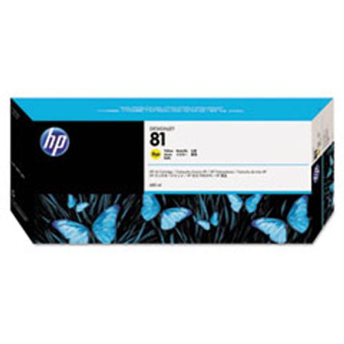 HP 81 - Ink Cartridge - Yellow Dye 680ml - C4933A