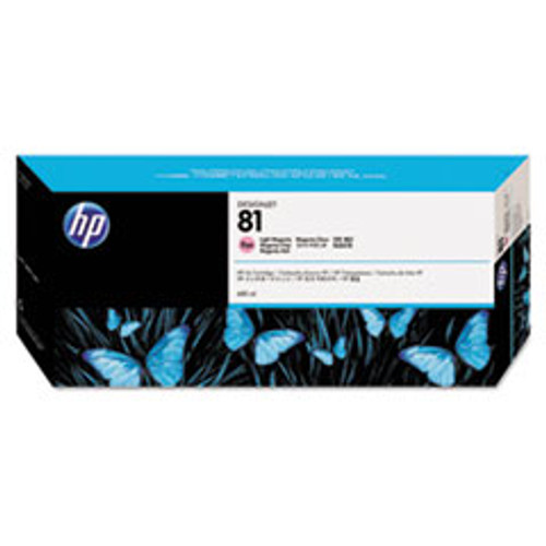 HP 81 - Ink Cartridge - Light Magenta Dye 680ml - C4935A