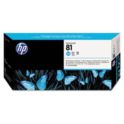 HP 81 - Cyan Dye Printhead/Cleaner - C4951A