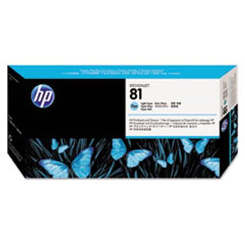 HP 81 - Light Cyan Dye Printhead/Cleaner - C4954A