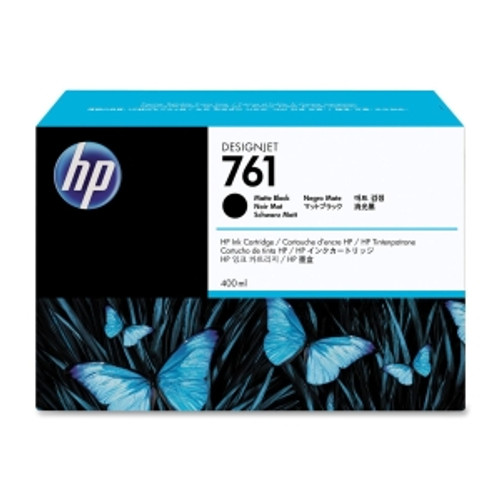 HP 761 Ink Cartridge Matte Black 400ml, CM991A