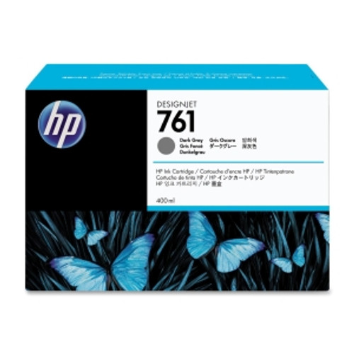 HP 761 Ink Cartridge Dark Gray 400ml, CM996A