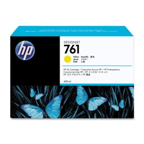 HP 761 Ink Cartridge Yellow, CM992A