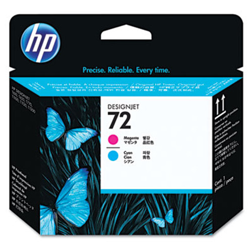HP 72,Printhead, Cyan,Magenta C9383A