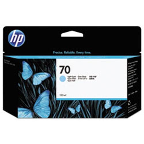 HP 70 - Ink Cartridge - Light Cyan 130ml - C9390A