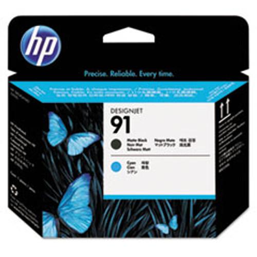 HP 91 - Printhead - 1 x Cyan,Matte Black - C9460A