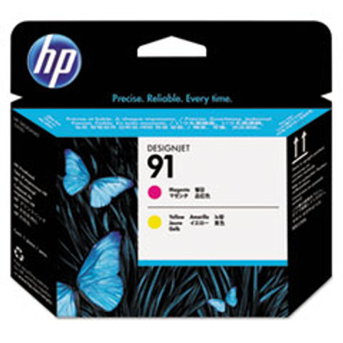 HP 91 - Printhead - 1 x Magenta,Yellow - C9461A