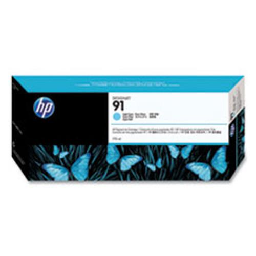 HP 91 - Ink Cartridge - Light Cyan 775ml - C9470A
