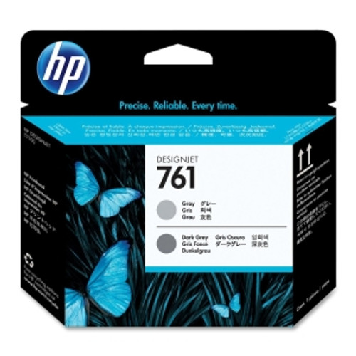 HP 761 Printhead - Gray, Dark Gray