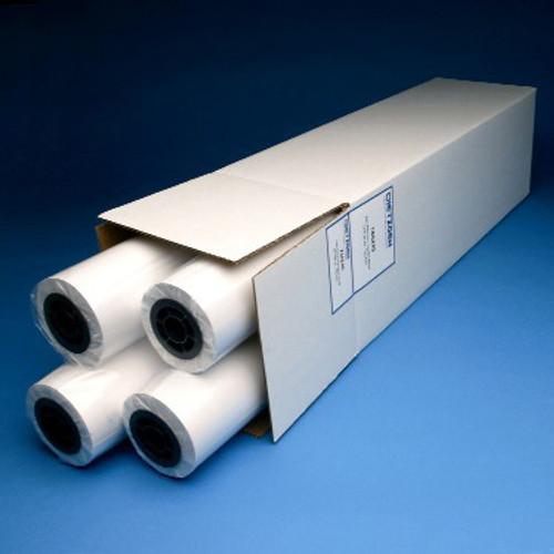 "Inkjet Plotter Paper, 20lb Recycled, 24"" x 150', 4 Roll/Carton,733245U"