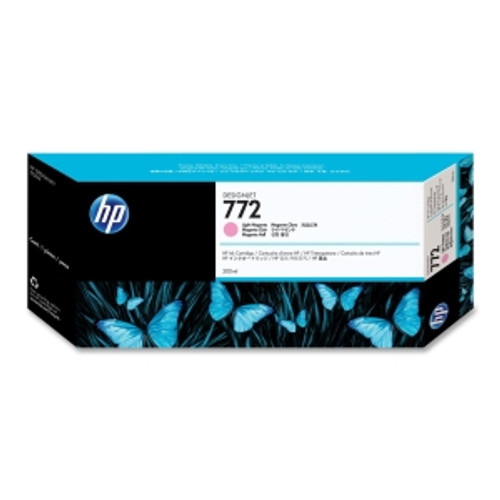 HP 772 Ink Cartridge - Light Magenta 300ml, CN631A