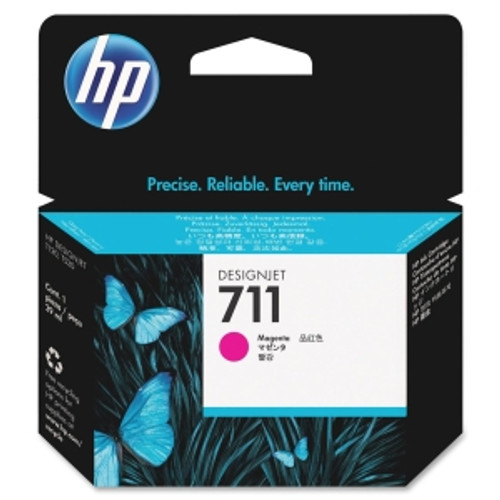 HP 711 Magenta Ink Cartridge, CZ131A