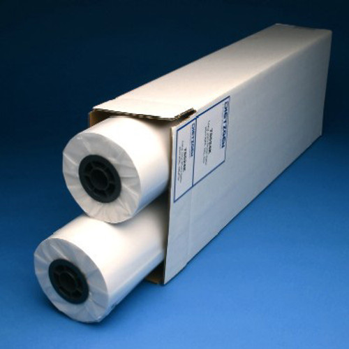 "Hi-Bright Plotter Paper , 20lb, 24"" x 300' 2 Roll/Carton, 740240U"