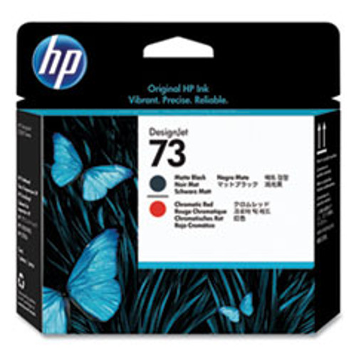 HP 73 Matte Black and Chromatic Red Printhead (Z3200 Only) - CD949A