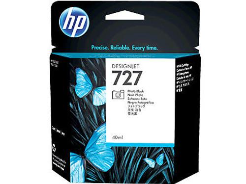 HP 727 Ink Cartridge - Photo Black 130ml - B3P23A