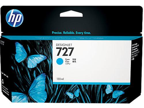 HP 727 Ink Cartridge - Cyan 130ml - B3P19A