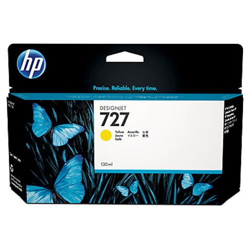 HP 727 Ink Cartridge - Yellow 130ml - B9P21A