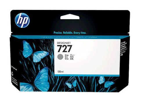 HP 727 Ink Cartridge - Gray 130ml - B3P24A