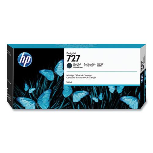 HP 727 Ink Cartridge - Matte Black 300ml - C1Q12A