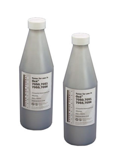 Oce Plotwave 700-750 Series toner,  2/500 gm.bottles,1 waste bottle